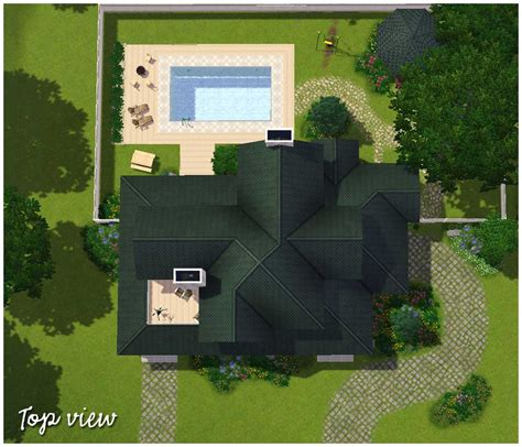 house plans for views house plans top view house top view top view of house