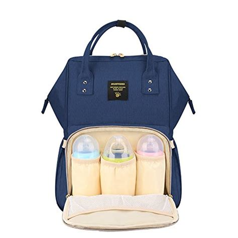 Sunveno Large Capacity Backpack Bag sunveno bag backpack for baby care multi functional import it all