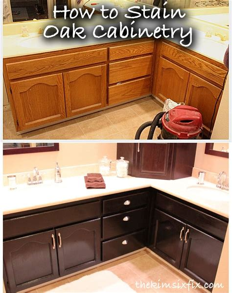 how to stain your kitchen cabinets 1000 ideas about painted kitchen cupboards on pinterest