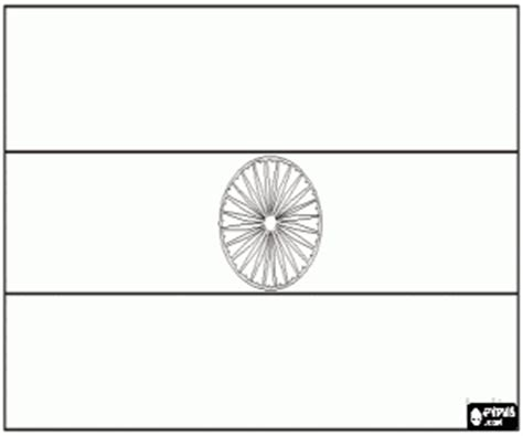 coloring page indian flags of countries of asia coloring pages printable 3