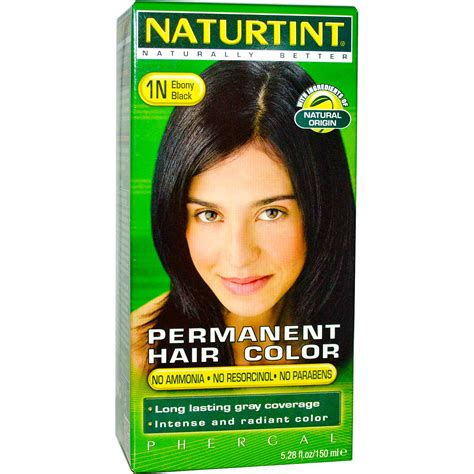 naturtint permanent hair color 1n black 5 28 fl