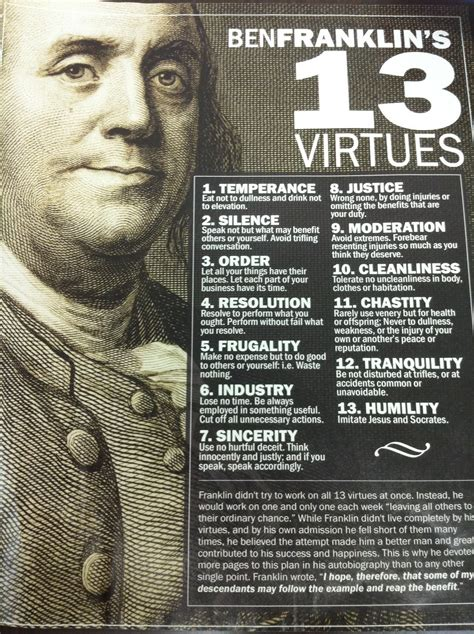the of virtue ben franklin s formula for successful living books the autobiography of benjamin franklin rodr 237 guez a