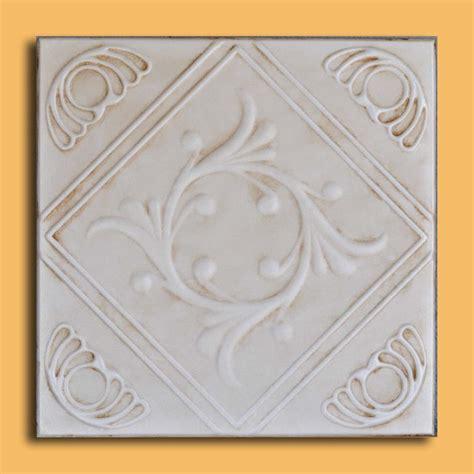 Foam Drop Ceiling Tiles 20 Quot X20 Quot Anet Aged Ivory Foam Ceiling Tiles Antique