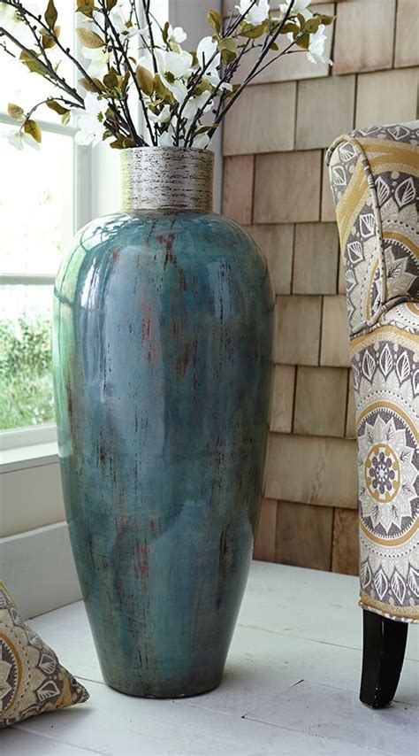 Large Teal Floor Vase 1000 Ideas About Floor Vases On Large Floor