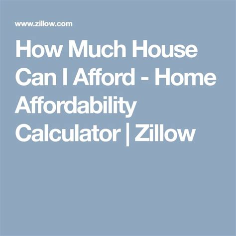 how much house can i afford home affordability