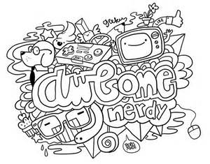 color doodle free doodle coloring pages coloring home