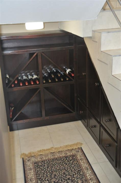 under stairs wine rack under stairs wine rack and storage decor ideas pinterest