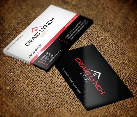 professional upmarket business card design for craig