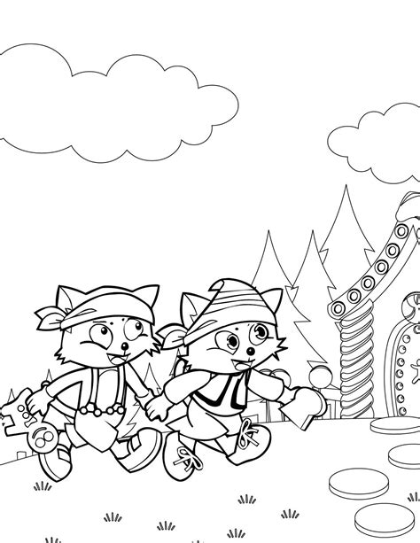 Moshlings Hansel Colouring Pages Page 2 Sketch Coloring Page Hansel And Gretel Coloring Page