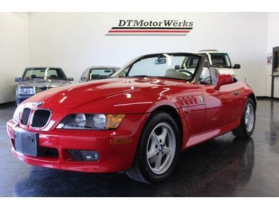 4 manual speed park bmw sell used 1997 bmw z3 convertible roadster 1 9l 4 cylinder