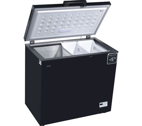Daftar Freezer Box Mini buy logik l200cfb17 chest freezer black free delivery currys