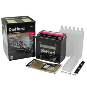 Sears Auto Battery Discount Diehard Gold Powersport Battery 14 Bs Price With Exchange