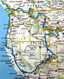 map of california oregon road maps of washington oregon and california