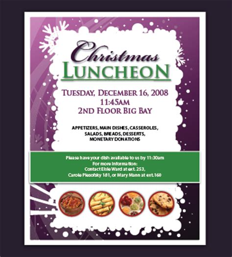 luncheon flyer template khooks design graphics designer