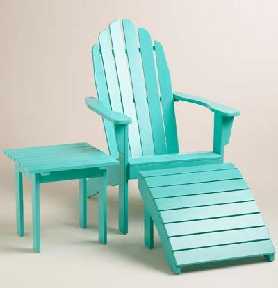 Turquoise Patio Chairs Lagoon Adirondack Chair Collection Turquoise Chair Table Aqua Coastal Decor Teal
