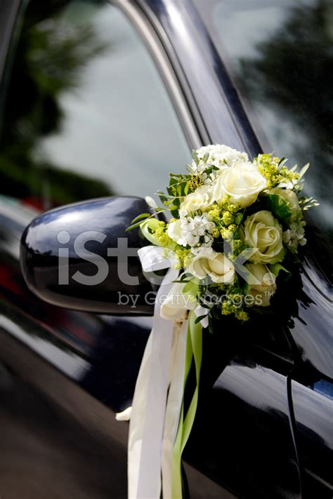 Decorate Wedding Car With Pink Flowers by Flower Decoration Wedding Car Stock Photos Freeimages