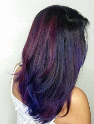 40 versatile ideas of purple highlights for blonde brown 1000 ideas about highlights for hair on pinterest blonde chunks highlights and brown hair