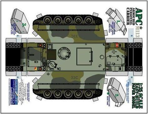 Tank Papercraft - 165 best paper tanks images on paper templates