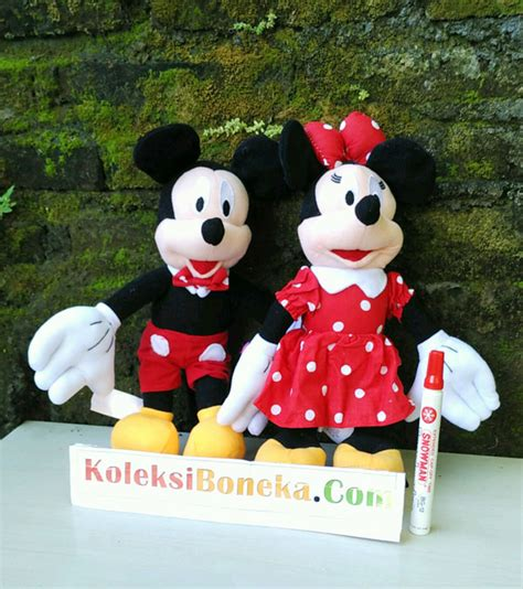 Boneka Minnie Dan Mickey Mouse by Jual Boneka Mickey Mouse Dan Minnie Mouse Ukuran S Harga