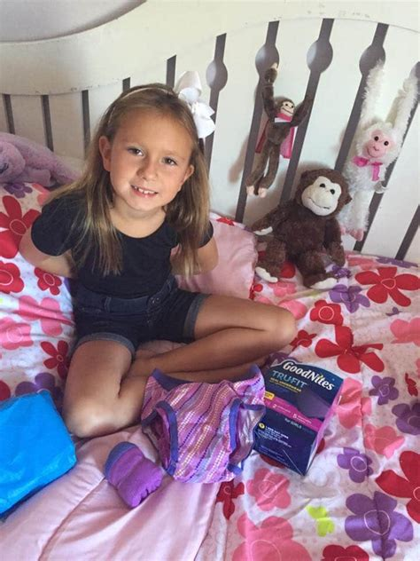 little girls in goodnites help your kids feel confident with trufit by goodnites