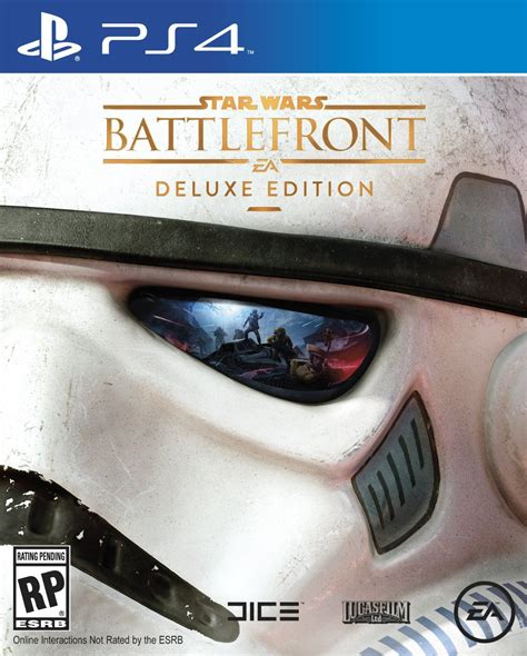 Star Wars Battlefront Deluxe Edition Ps4 With Han Solo | star wars battlefront s deluxe edition has gorgeous box