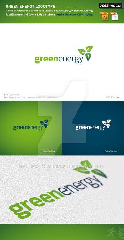 free logo templates illustrator green energy logo template by design on arrival on deviantart