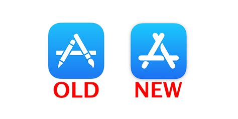 new app apple just changed the app store icon for the time