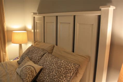 Closet Door Headboard by Chic Not Boutique Headboard Made From Closet Doors