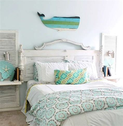 Beachy Headboards by Awesome Above The Bed Themed Decor Ideas
