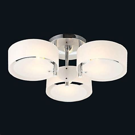 flush mount entry light ecolight flush mount modern contemporary 3 lights ceiling