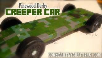 boy scout derby car templates minecraft creeper car cub scout pinewood derby race car