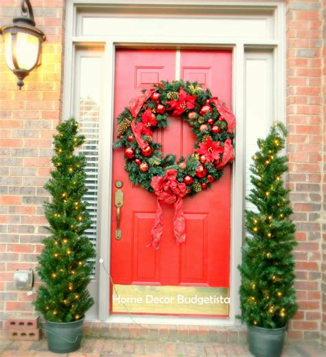 decorating doors for christmas 50 best christmas door decorations for 2017