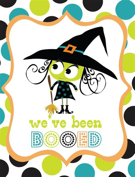 free printable you ve been booed sign super fun neighborhood game surprise your neighbors with