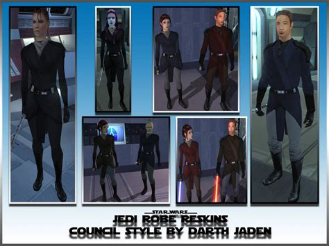 jedi robes kotor jedi robe reskins council style at knights of the