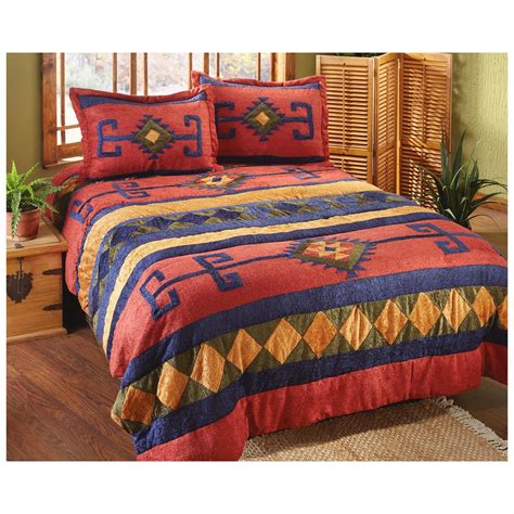 castlecreek 174 hidalgo chenille comforter set 226565