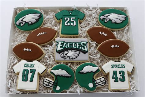 gifts for eagles fans s cookies football season