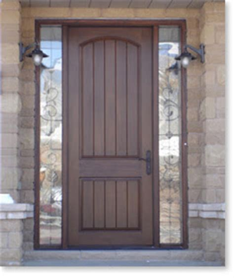 Exterior Fiberglass Doors With Sidelights Entry Doors With Sidelights