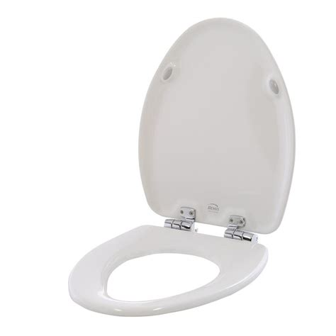 home depot elongated toilet seat bemis elongated closed front toilet seat in