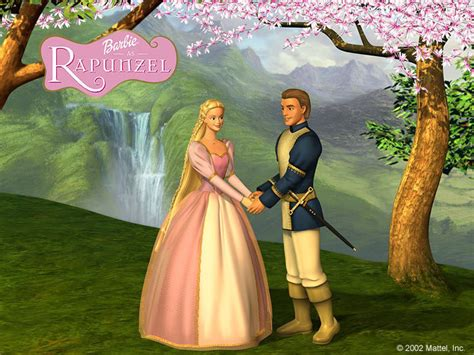 film barbie rapunzel wallpaperew barbie as rapunzel movie wallpapers