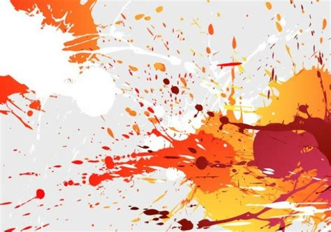abstract paint splashes vector background welovesolo
