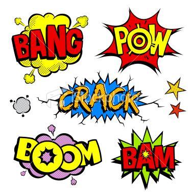 font pop art pop art cartoon noises vector art art illustrations and