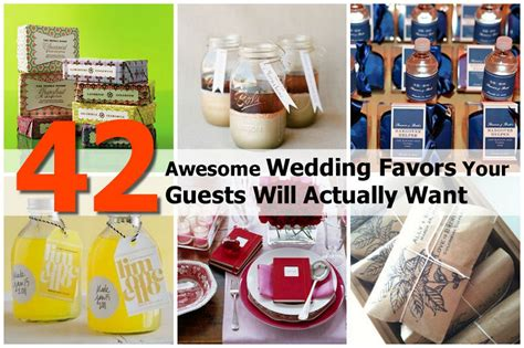 diy wedding gift ideas for guests 42 awesome wedding favors your guests will actually want