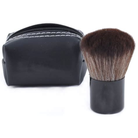 kuas make up blush on foundation make up brush black jakartanotebook