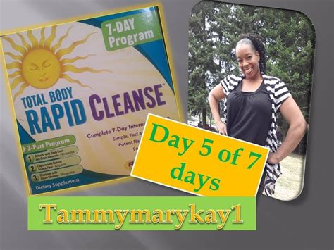 Rapid Detox Program by Total Rapid Cleanse Day 5 Of 7 Days Detox Cleanse