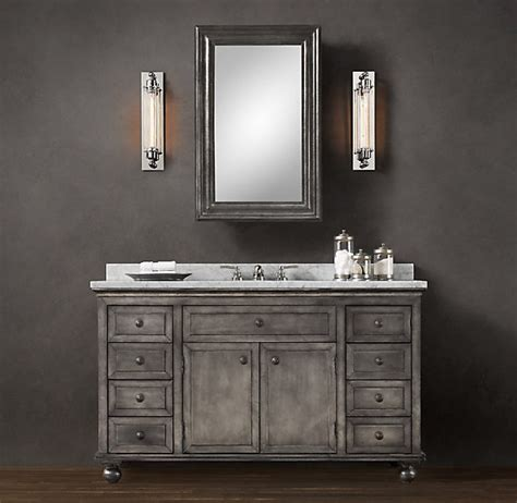 restoration hardware bathroom cabinets bathroom upstairs restoration hardware alaska house