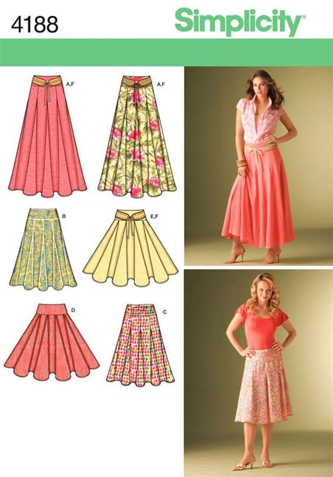 pattern for a simple skirt skirts women s skirts and belt on pinterest