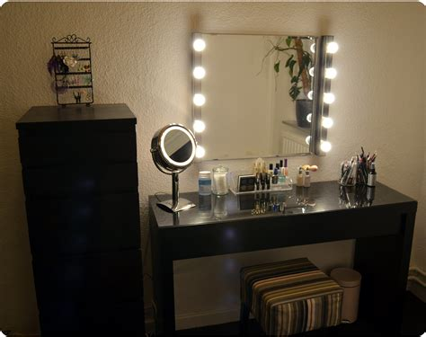 Bedroom Makeup Vanity With Lights Ikea by Ikea Malm Vanity Ikea Kolja Mirror Ikea Musik Vanity