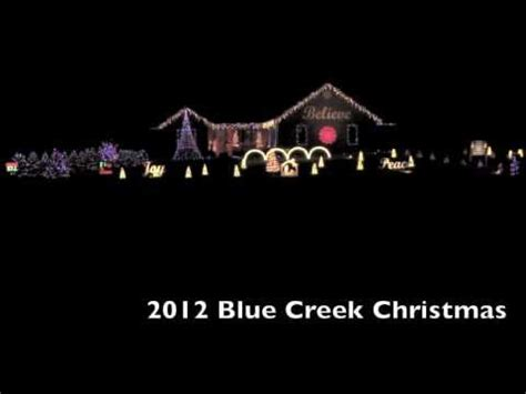 2012 blue creek christmas thx robot youtube