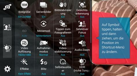 Kamera Samsung Galaxy S5 die kamera app vom samsung galaxy s5 bietet viele