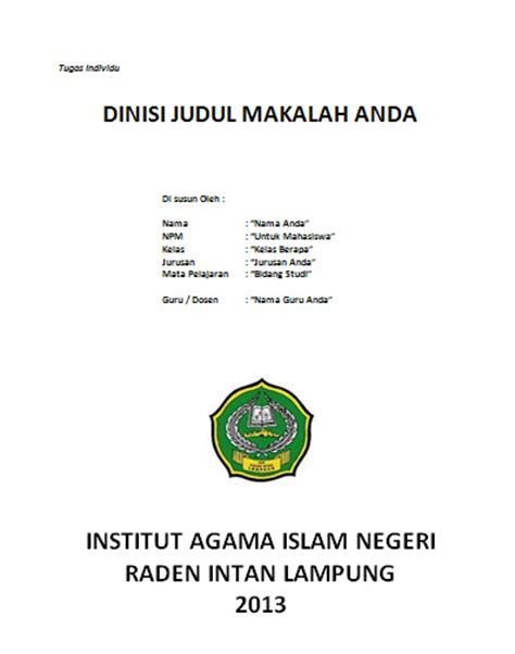 membuat makalah font contoh penutup makalah bahasa indonesia yang benar share